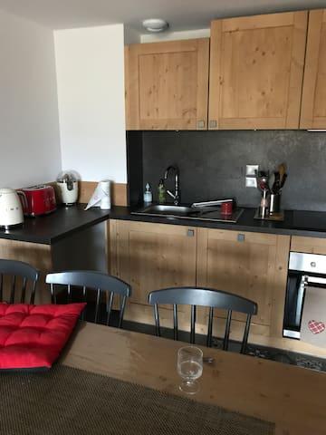 Appartement neuf dans résidence 4 étoiles