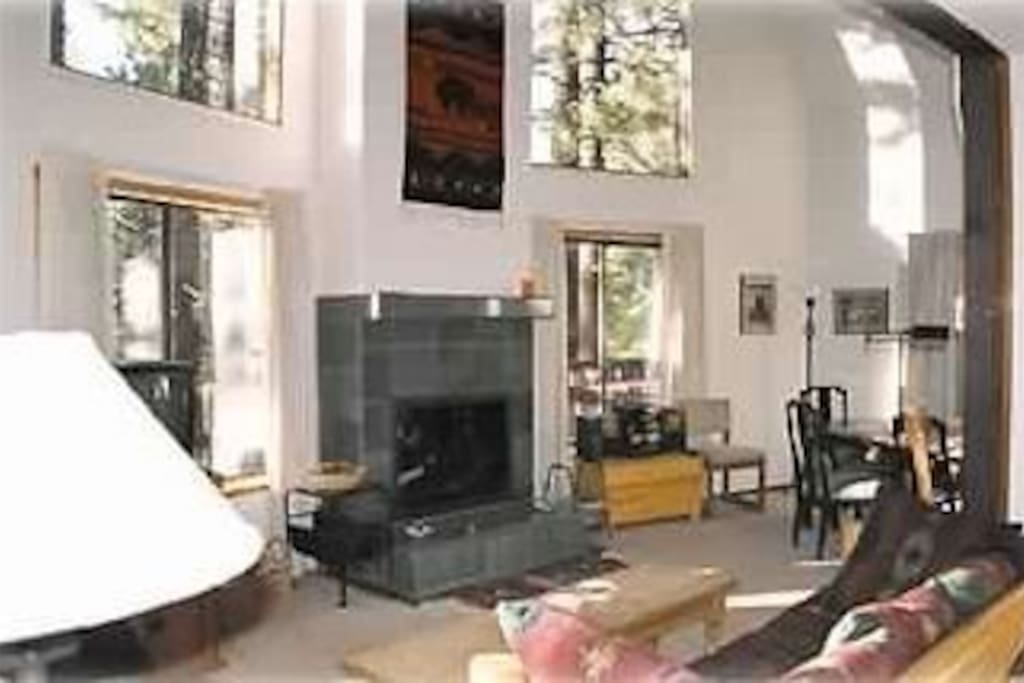 Living Room from Entry Hall