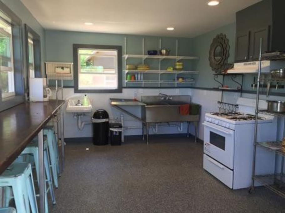"""Kitchen in the """"Community  Building"""""""