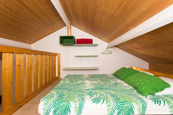 Mezzanine 2 couchages