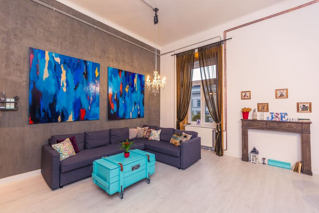 New renowned apartment
