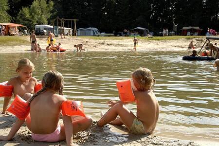 Safaritent op Camping de Rammelbeek, Nederland