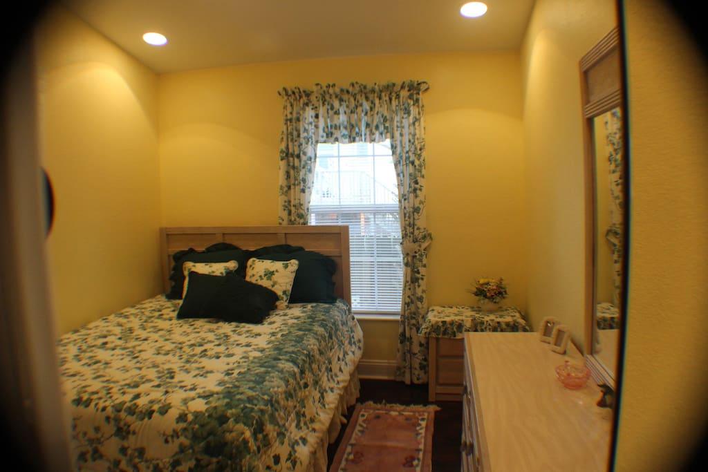 Delightful master bedroom