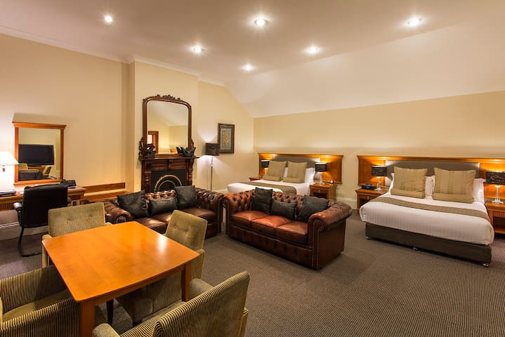 Luxury Family Room in  Boutique Hotel