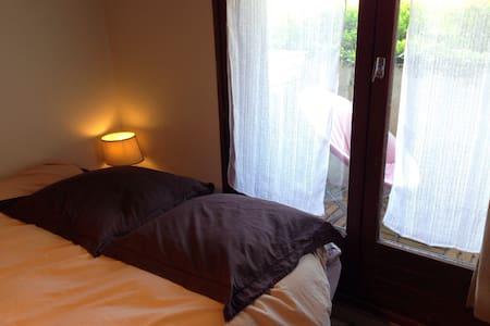 Chambre au calme avec Jardin - Appartement