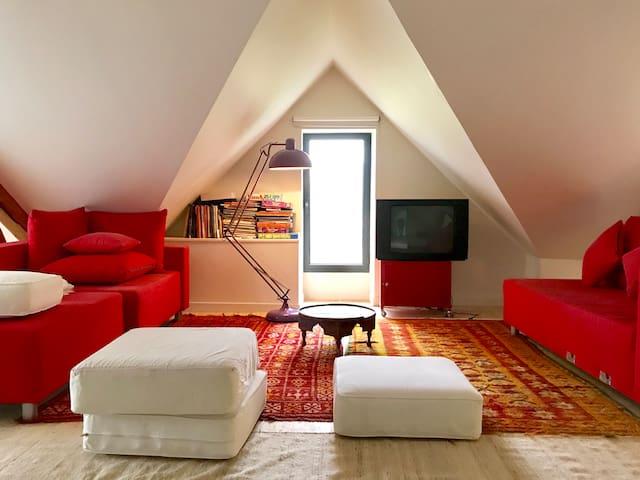 DORTOIR COSY au sein d'une maison d'architecte