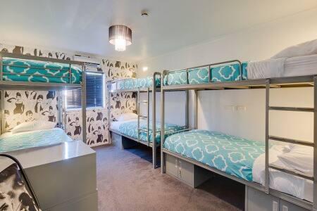 Six Bed Female Dorm Room