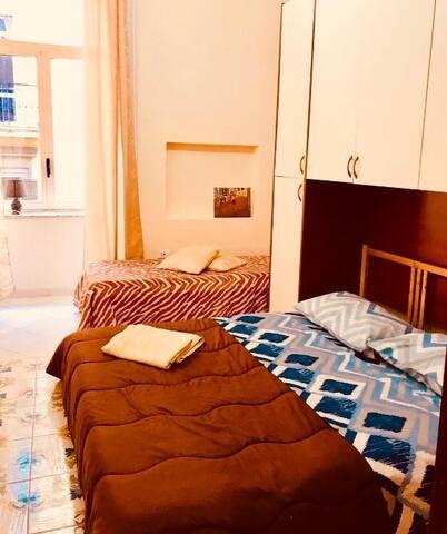 Best bedroom 100m. from piazza garibaldi