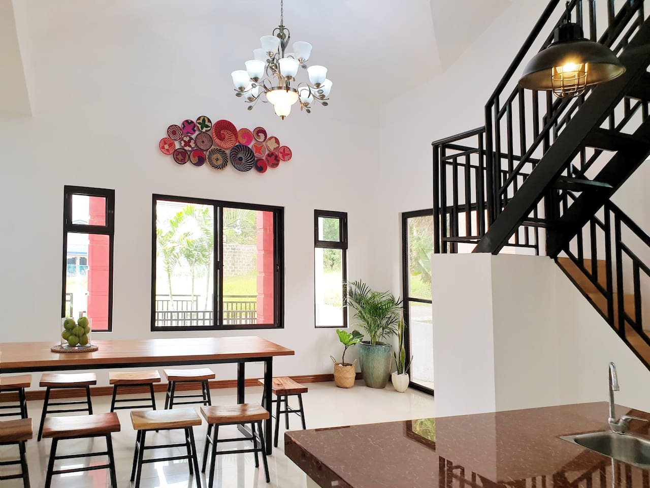 Industrial Boho themed house perfect for a quick getaway in Tagaytay city