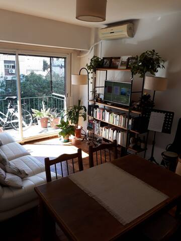 Living room and balcony 2 - shared spaces