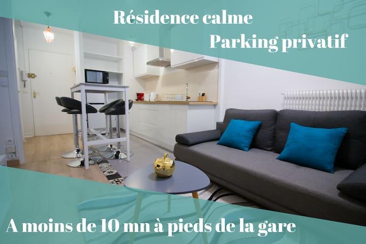 Ebisoires_Plaisir - Proche Gare et Commerces