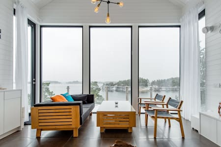 Exclusive accommodation with beautiful views of the Stockholm archipelago