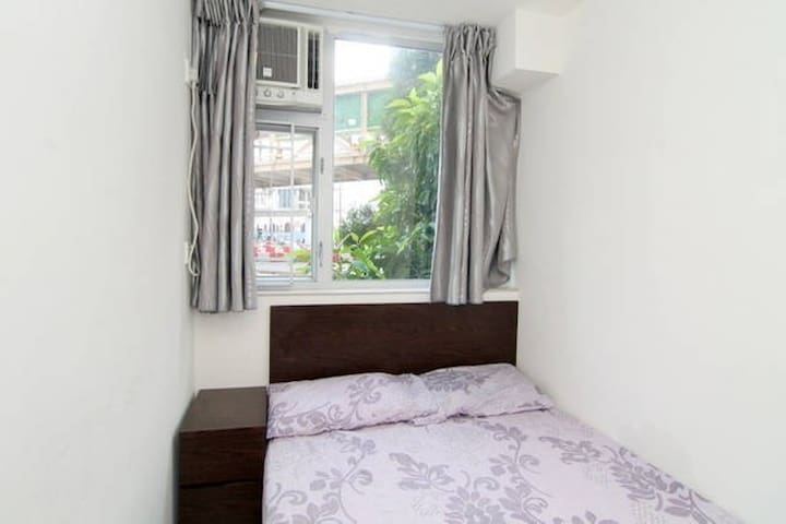 Sunny double room 2 mins to MTR *D