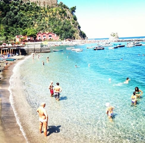 Rosa Relais -  Vico Equense beach, Sorrento Coast - Vico Equense - Huis