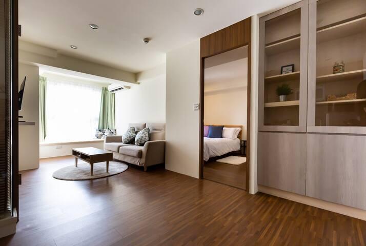 Cozy Apartment Next to 101  近信義安和捷運站 國父紀念館 通化夜市