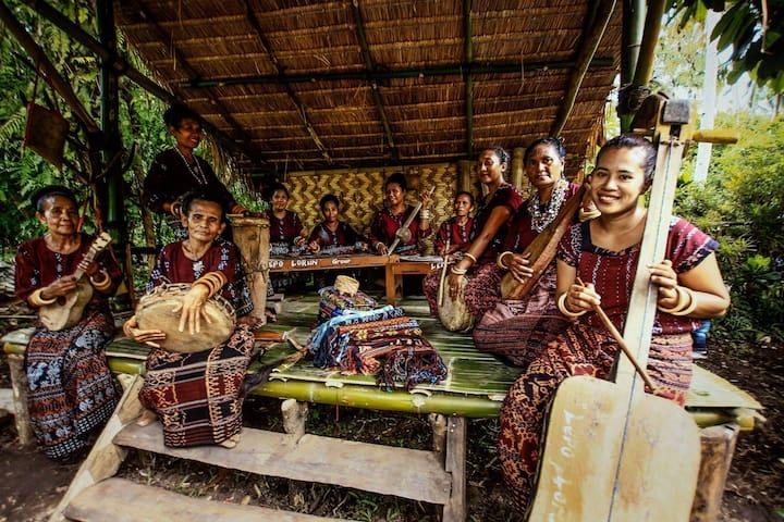 Lepo Lorun Eco Home Stay - Kabupaten Sikka - Cabaña en la naturaleza