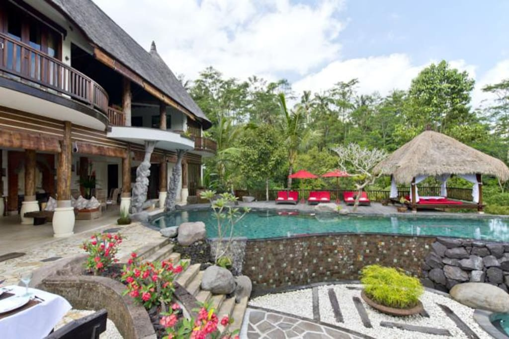 Main villa area