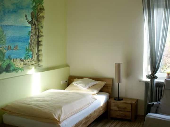 Hotel Romagna Mia, (Nersingen), Einzelzimmer mit Dusche und WC
