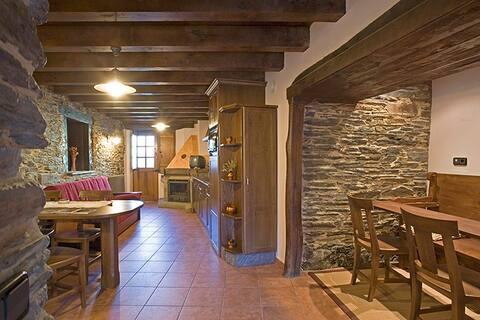 Casa Rural Balcón de Oscos, Apartamento 6 personas