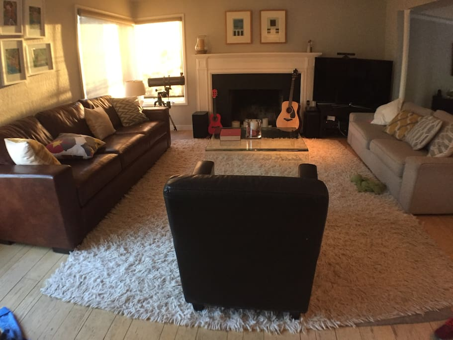 A homely, main living space
