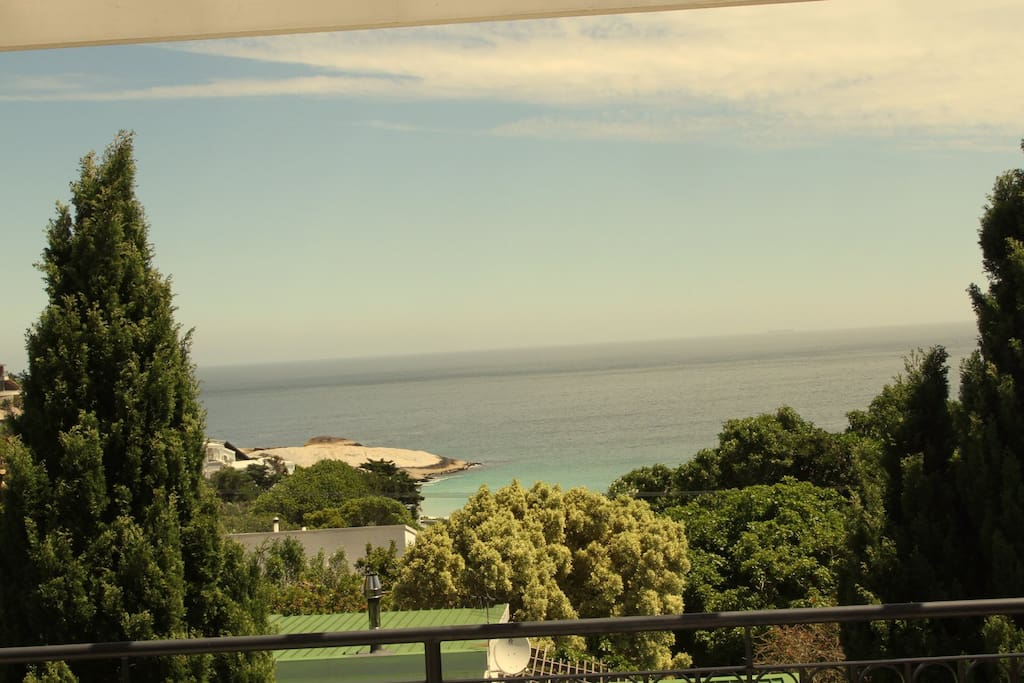 View from 20 sqm balcony.