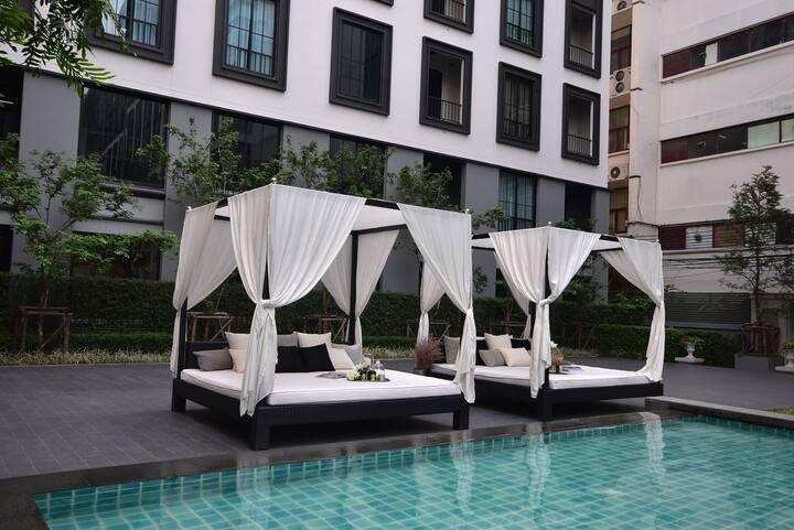 Luxury Condo86@Siam area/Free Airport Pick-Up 24Hr