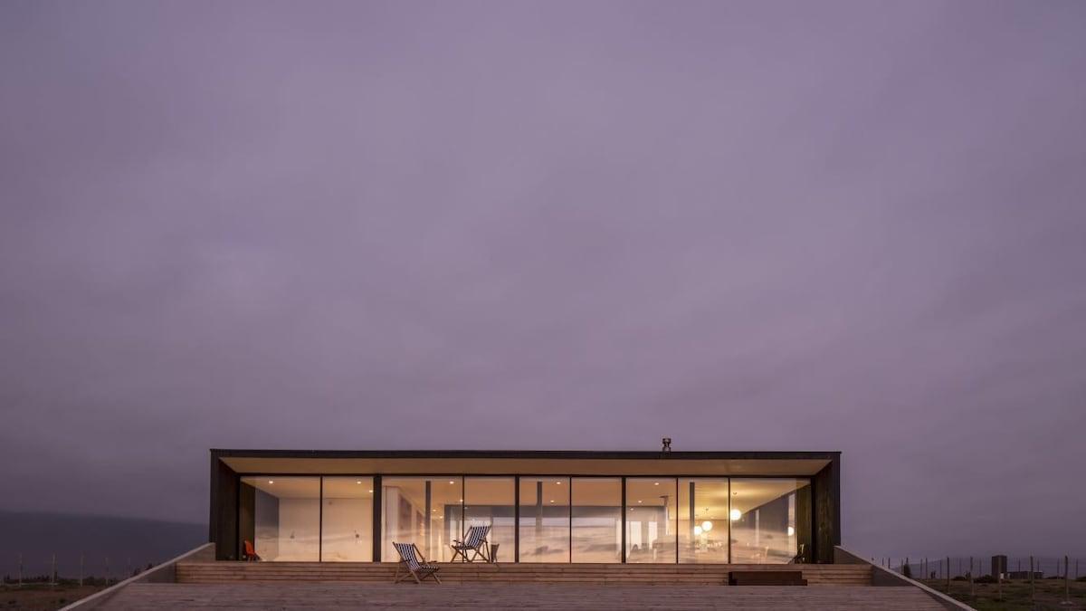 moderna casa de playa huentelauquen airbnb