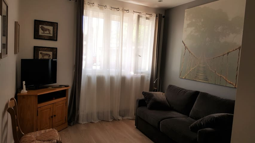 Beautiful 25sqm studio Avenue Gal de Gaulle - Clamart - Apartment