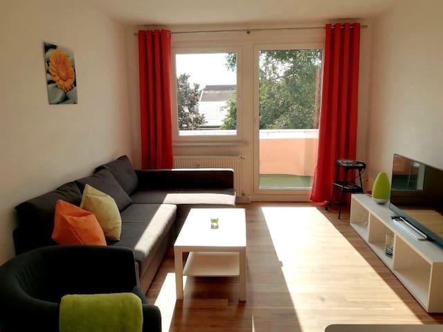 Apartment mit Balkon in Lauchhammer