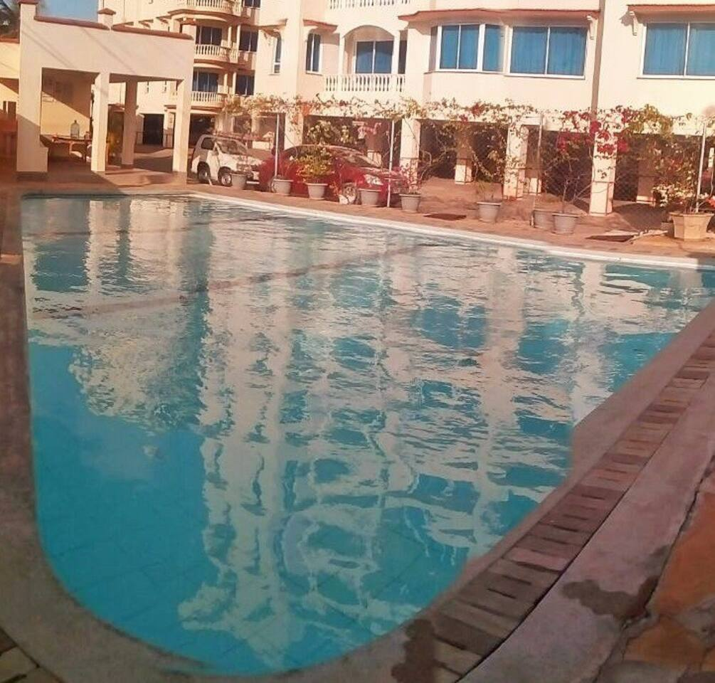 Swimming pool and recreational area