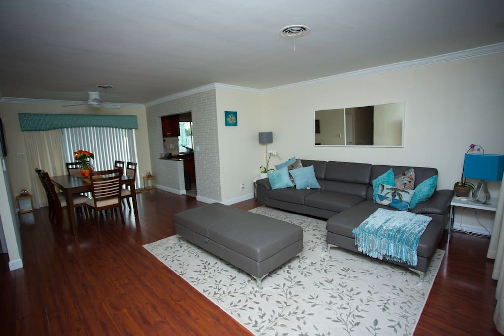 Living Room Area ( View 1 )