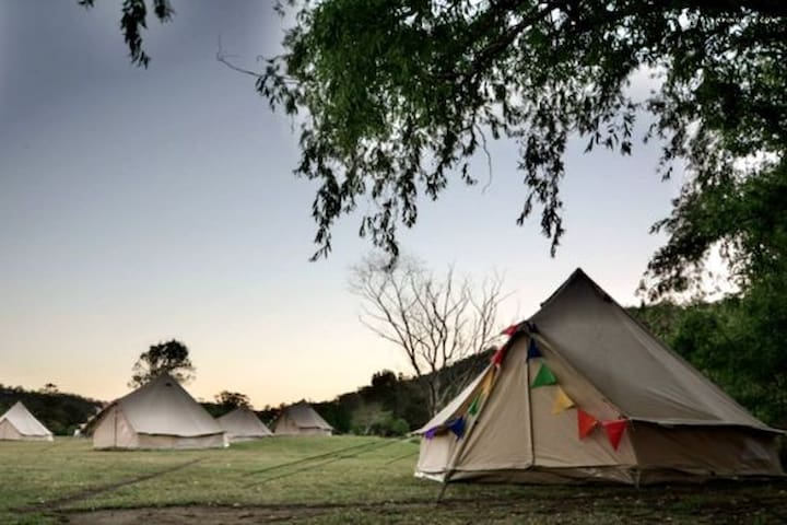 ISurfPortugal Camp Shared tipi