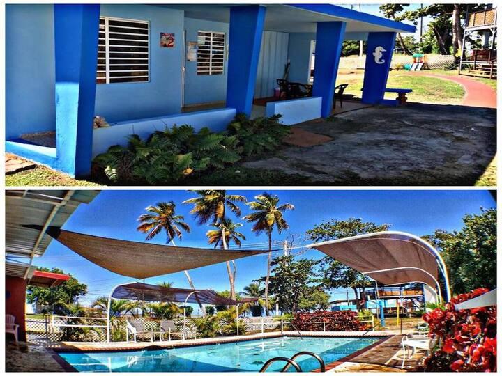 Pool Family Villa #2 @ Las Casitas Guest House