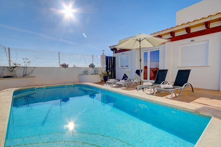 Villa Mas Catala with private pool, terraces and BBQ