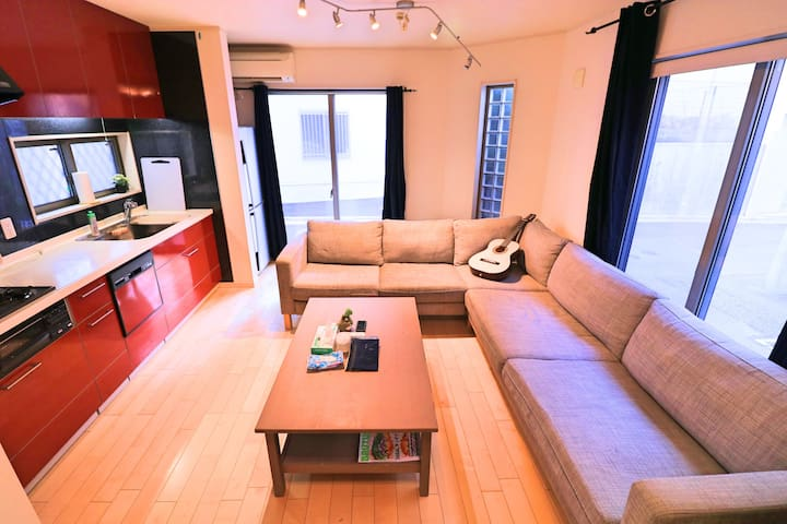 Cozy house(Max 10ppl) Easy Access to Shibuya,Ebisu - Shibuya - Rumah