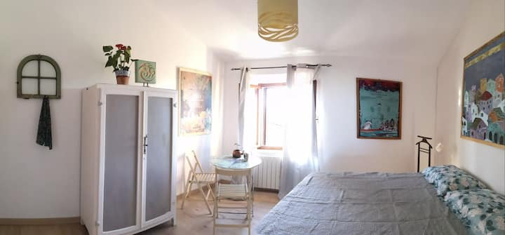 Casa Atelier Ammos, nel cuore del borgo in Toscana