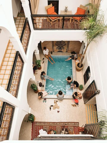 *Lovely Riad B&B Medina Marrakech*