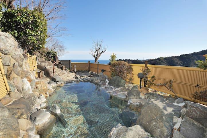 Hot spring and wonderful view! - Yugawara-machi - Oda + Kahvaltı