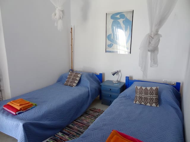 Both beds with sea views and leading to large terrace.