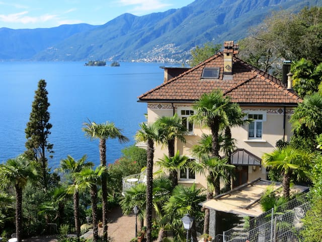 Studio in Jugendstilvilla am See - Ascona - Appartement