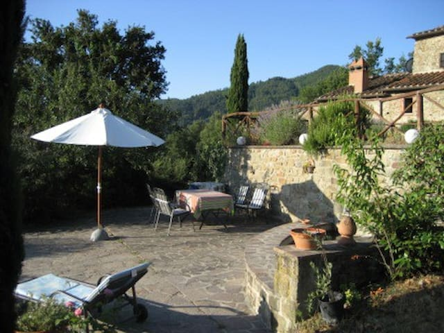 Terrasse am großen Brunnen