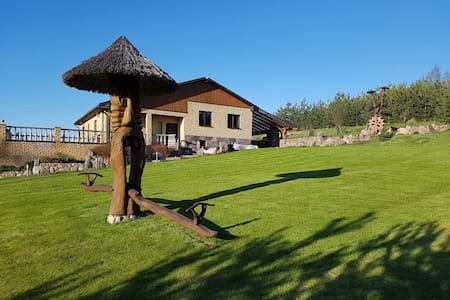 """Villa """"Mariu pavesy"""", near the lake"""