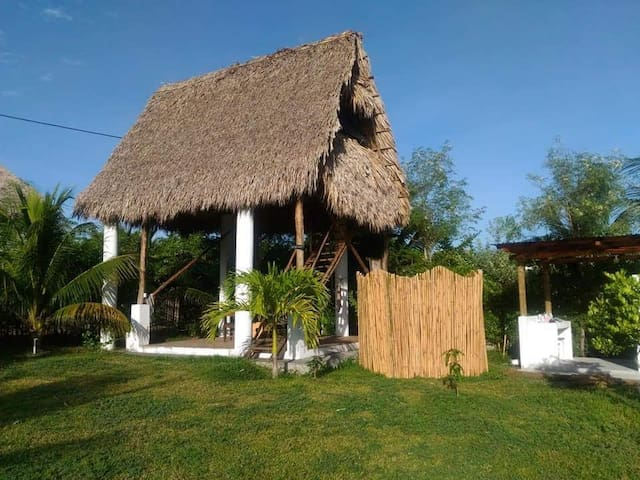Private Beach Garden villa(with fans)-villa Tahiti
