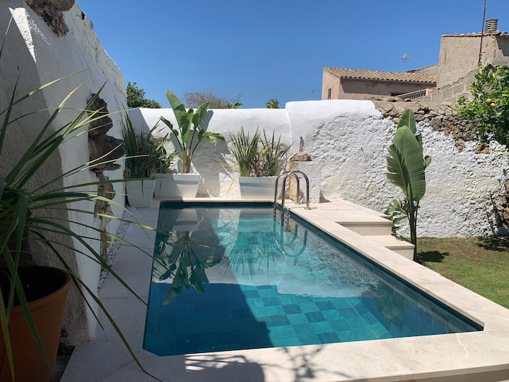 Authentic Mallorcan village house with pool
