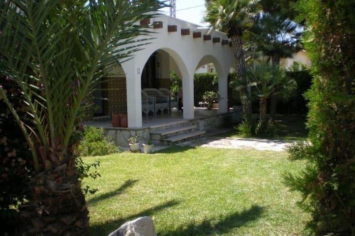 Villa calme avec grand jardin - San Juan de Alicante - Casa