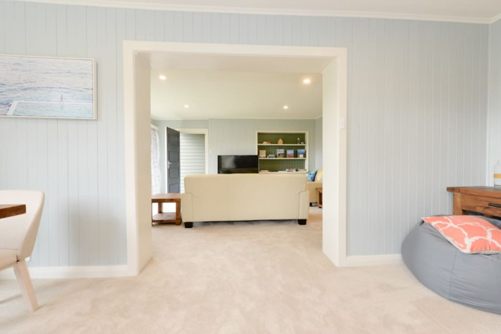 The carpet is brand new and provides a warm, super soft, luxury touch. Grab a bean bag or relax on the sofa.  NBN provides high speed internet for those who need to work or Netflix.