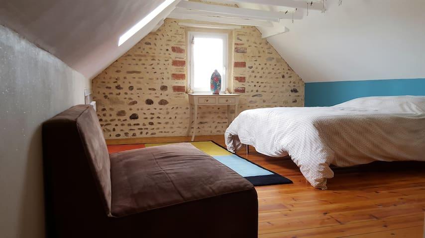 Chambres d'hôtes pour famille - Lonçon - House