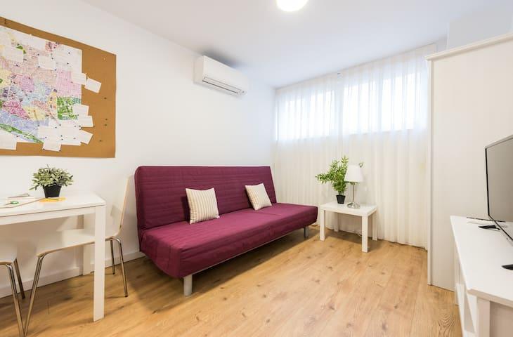Estudio acogedor en Madrid - Madrid - Apartamento