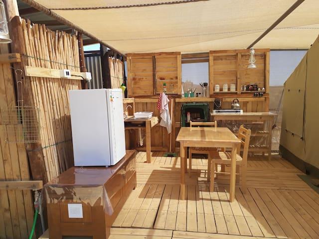 Zwartkop Guest Farm DW Tent