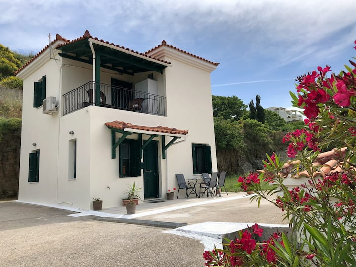 Relaxing Maisonette with view in Andros